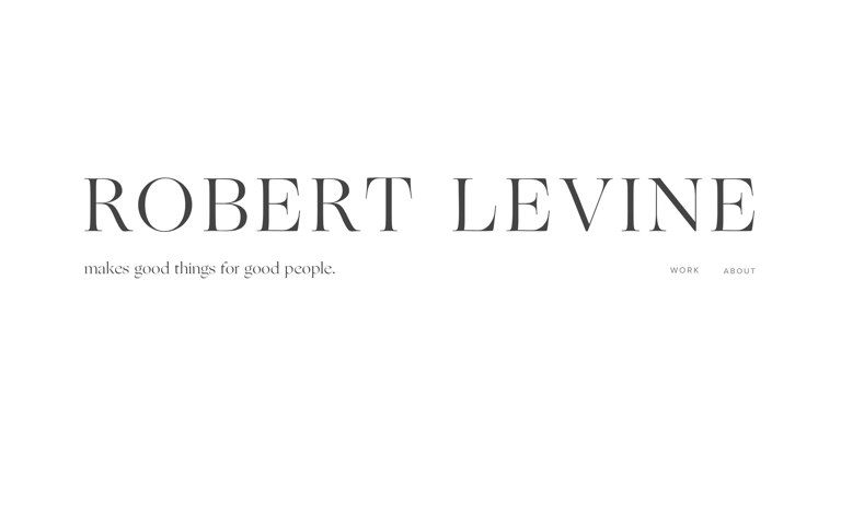 Screenshot of Robert Levine