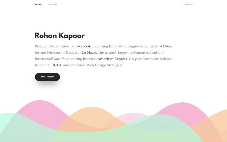 Screenshot of Rohan Kapoor