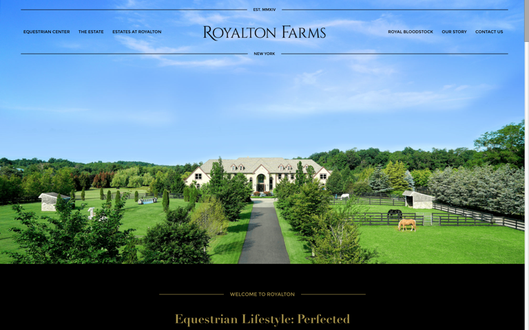 Screenshot of Royalton Farms