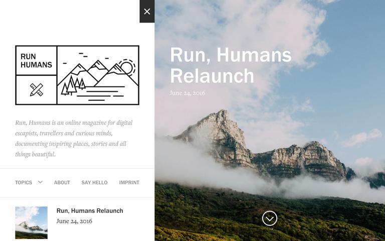 Screenshot of Run Humans