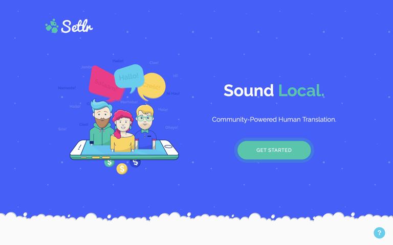 Screenshot of Setlr