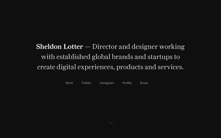 Screenshot of Sheldon Lotter