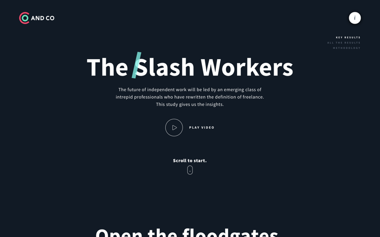 Screenshot of The Slash Workers