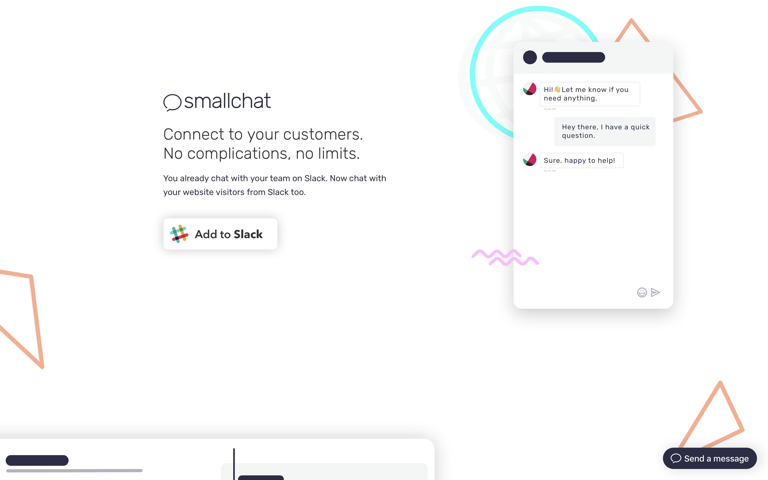 Screenshot of Smallchat