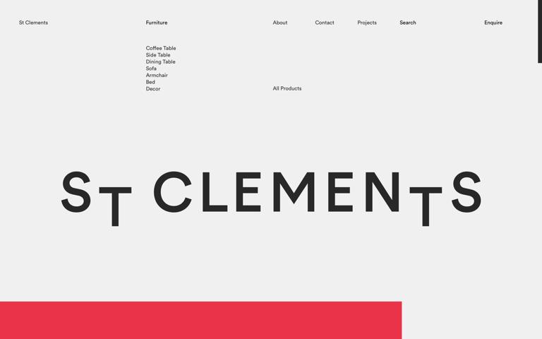 Screenshot of St Clements