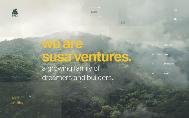 Screenshot of Susa Ventures