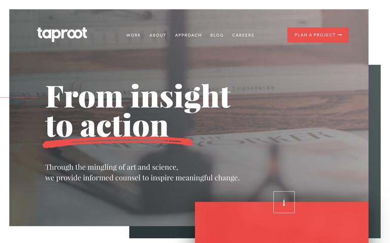 Screenshot of Taproot