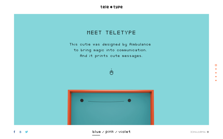 Screenshot of Teletype