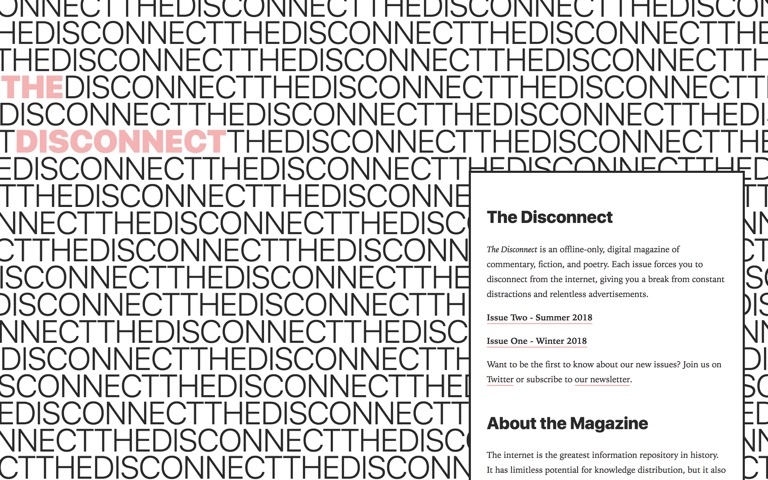 Screenshot of The Disconnect