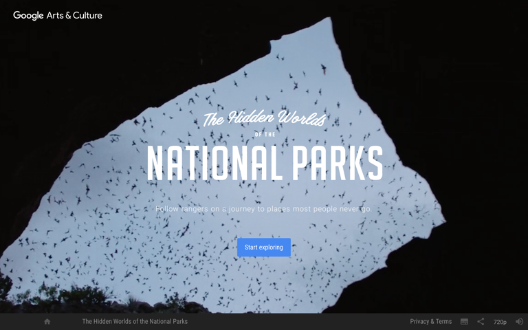 Screenshot of The Hidden Worlds of the National Parks