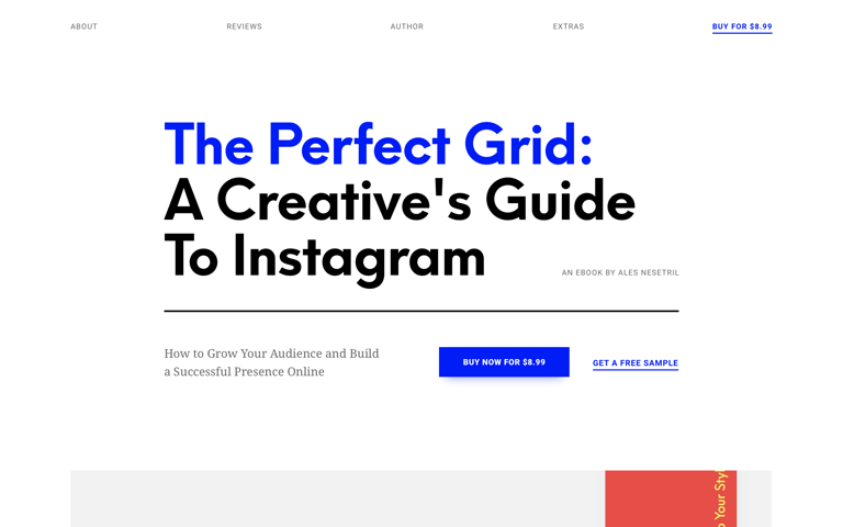 Screenshot of The Perfect Grid