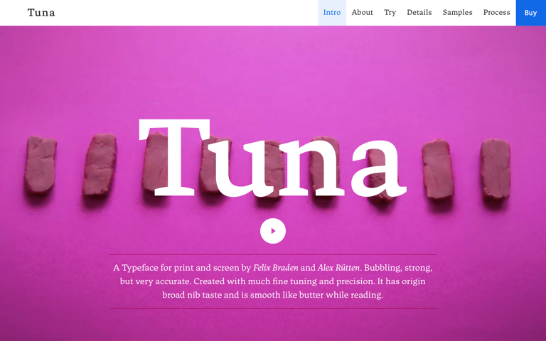 Screenshot of Tuna