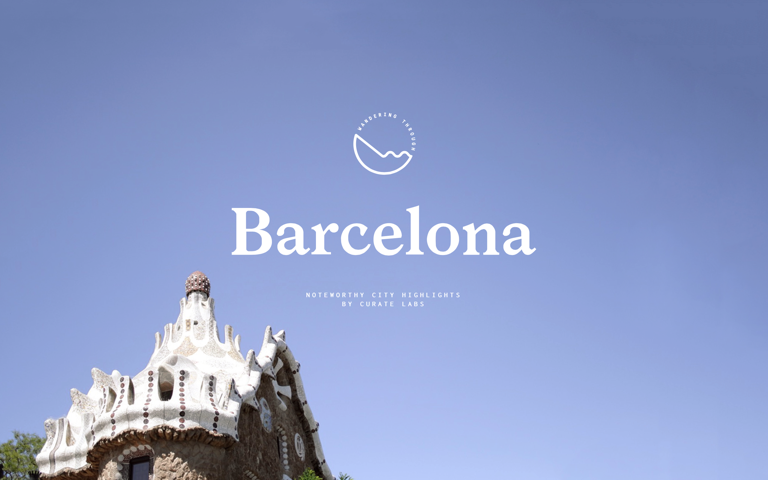 Screenshot of Wandering Through Barcelona