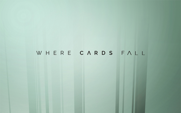 Screenshot of Where Cards Fall