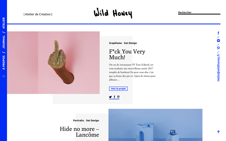 Screenshot of Wild Honey
