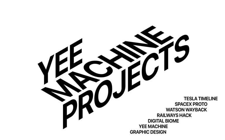 Screenshot of Yee Machine Projects